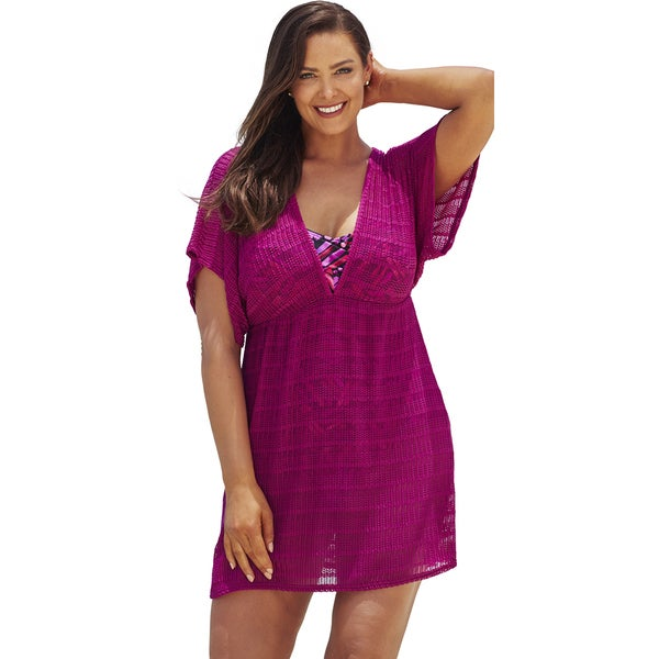 Magenta Empire Tunic