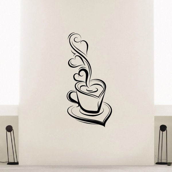 A Cup Of Tea Vinyl Wall Art Decal Sticker
