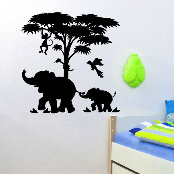 Africa Beasts Wall Art Decal Sticker