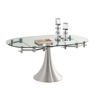 THAO II Collection Aluminum Extendable Dining Table by Casabianca Home