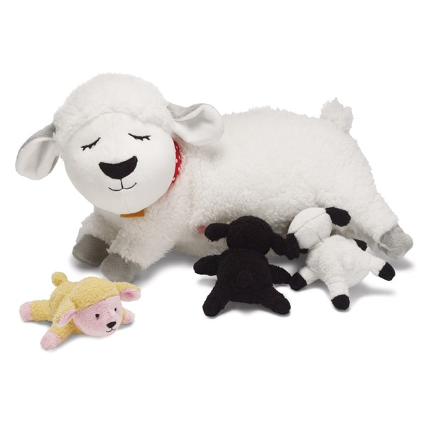 Manhattan Toy Nursing Pets Nursing Nola Plush Toy