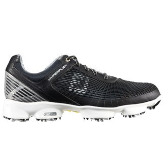 FootJoy Mens 51046 Black/ White HyperFlex Golf Shoes