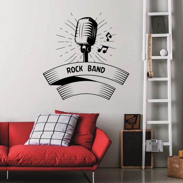 Music Notes Sounds Wall Art Decal Sticker