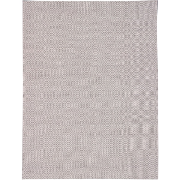 ecarpetgallery Nevada Beige/ Purple Wool Rug (9'0 x 11'11)