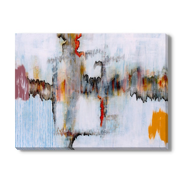 Abstract painting Print on Canvas Gallery Wrap