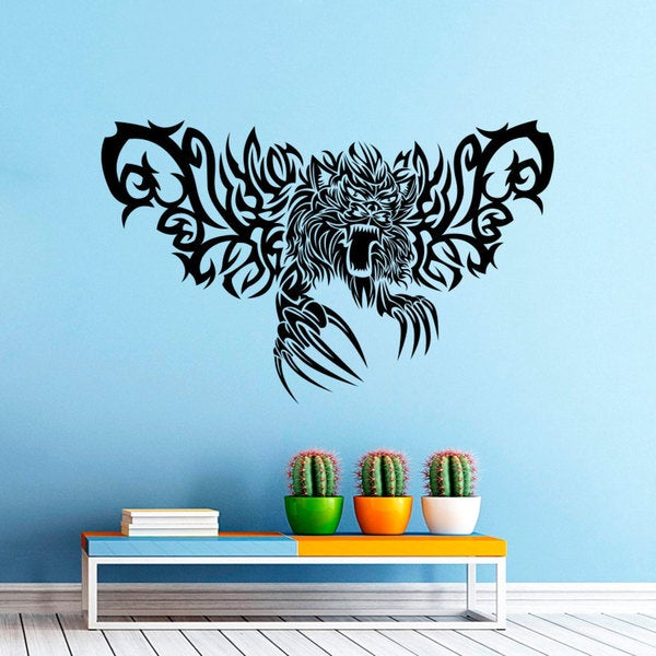 Monsters Horror Daemon Claws Wall Art Sticker Decal 17265492