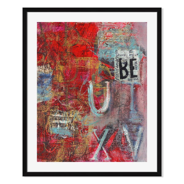 Gallery Direct Babel On I Print by Shirley Williams on Paper Framed Print