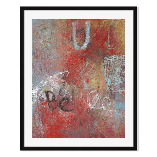 Gallery Direct Babel On II Print by Shirley Williams on Paper Framed Print