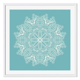 Gallery Direct Circle Ornament Print on Paper Framed Print
