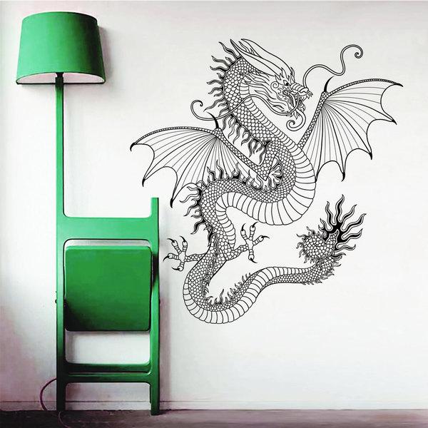 Dragon Monster Wall Art Sticker Decal 17265718