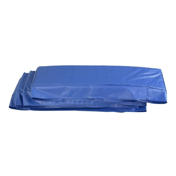 Blue Super Trampoline Replacement Safety Pad (Spring Cover) for Rectangular Frames