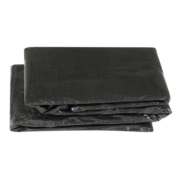 Economy Black Trampoline Weather Protection Cover for Rectangular Frames (9 x 15)