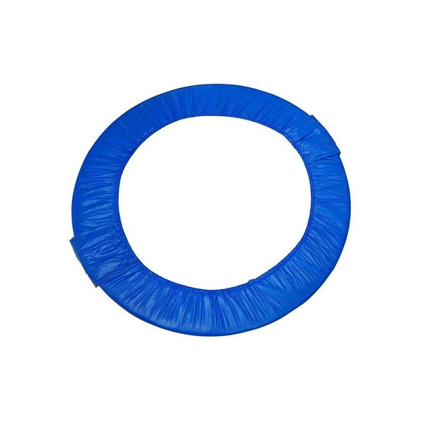 38-inch Blue Mini Round Foldable Replacement Trampoline Safety Pad (Spring Cover) for 6 Legs