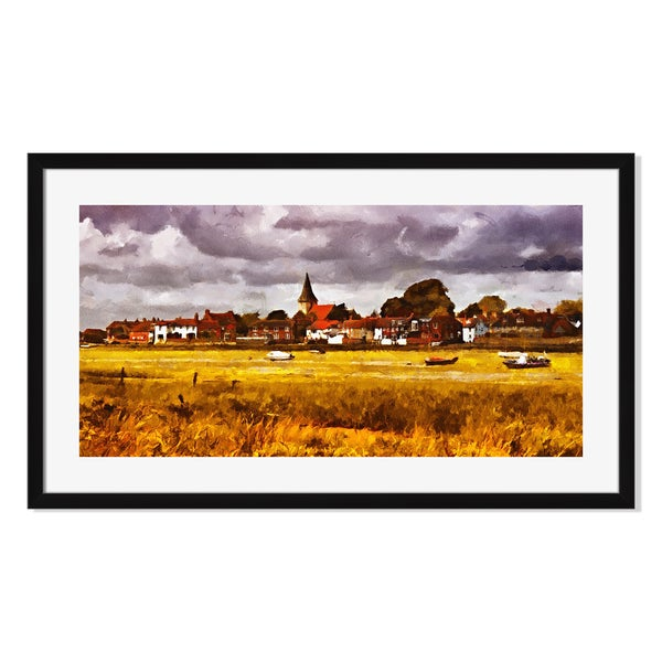 Gallery Direct The Church of the Holy Trinity Print by Roman Solar on Paper Framed Print