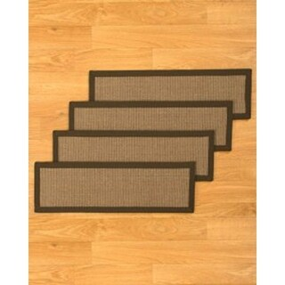 """Hand-crafted Gilford Sisal Stair Treads (9""""x29"""")"""