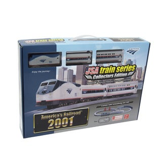 2001 Amtrak National Railroad Passenger Corporation Battery Operated Train Set