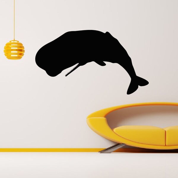 Marine Animals Whale Wall Art Sticker Decal