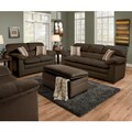 Simmons Upholstery Lakewood Cappuccino Sofa
