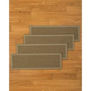 "Hand-crafted Geneva Sisal Stair Treads (9""x29"")"