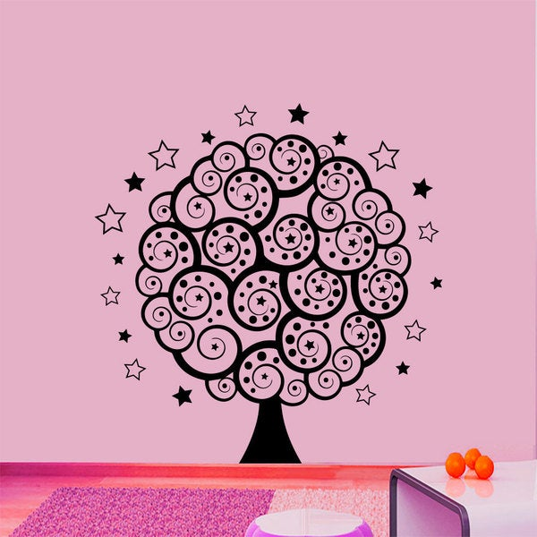 The Magic Tree Wall Art Sticker Decal