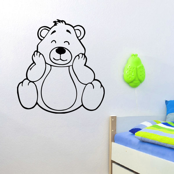 Tempting Little Bear Wall Art Sticker Decal