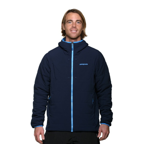 Patagonia Men's Navy Blue Nano Air Hoodie