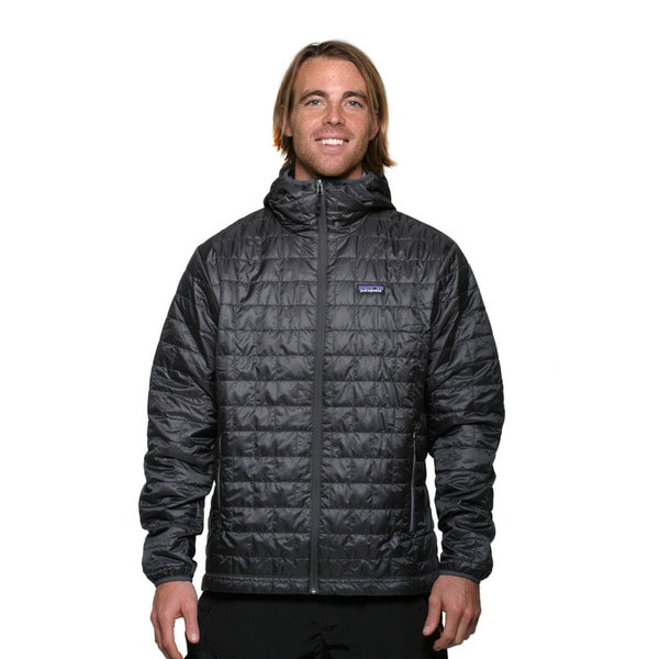 Patagonia Men's Forge Grey Nano Puff Hoody