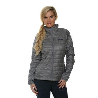Patagonia Women's Nano Puff Feather Grey Jacket