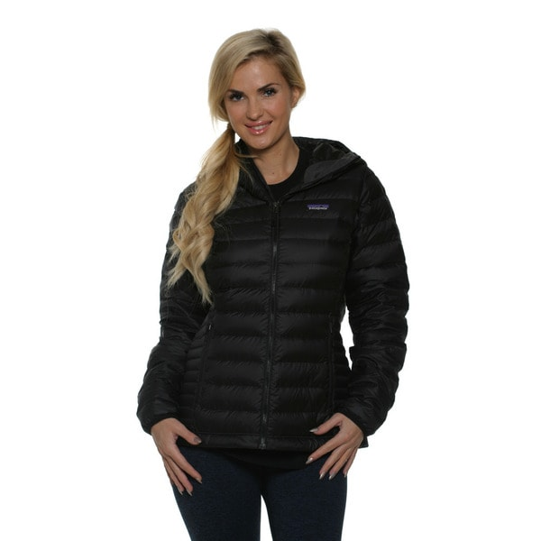 Patagonia Women's Black Down Sweater Hoodie