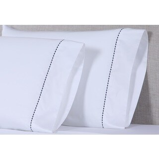 Affluence 600 TC Small Dot Pillowcase Sets