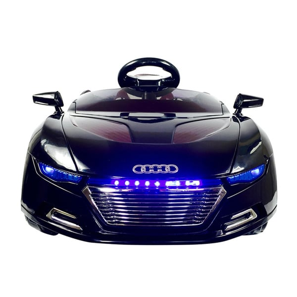 Audi Style 6V Black Ride-on Car with Remote Control