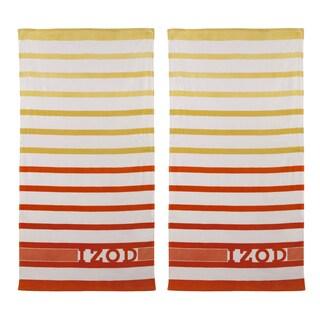 IZOD Ombre Stripe Beach Towel (set of 2)