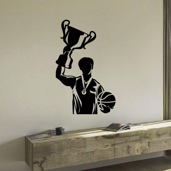 Basketball Winning the Game Wall Art Sticker Decal