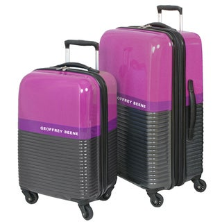 Geoffrey Beene Ultra Lightweight 2-piece Hardside Spinner Luggage Set