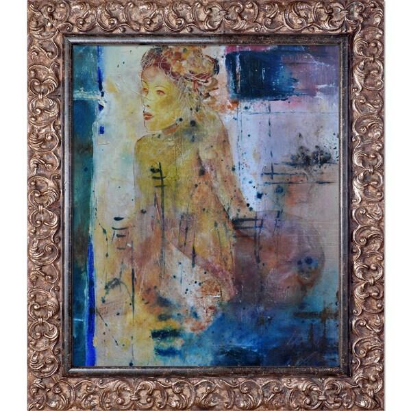 Pol Ledent 'Nude 3545' Framed Fine Art Print 17266776