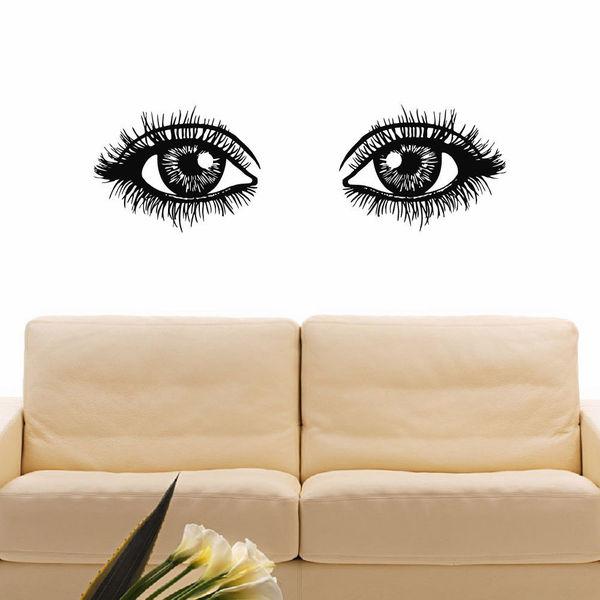 Girl Eyes Vinyl Wall Art Decal Sticker