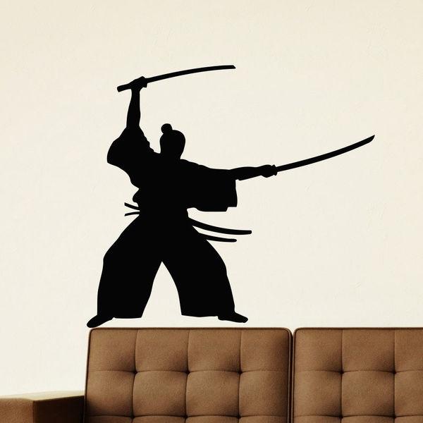 Samurai Japan Vinyl Wall Art Decal Sticker