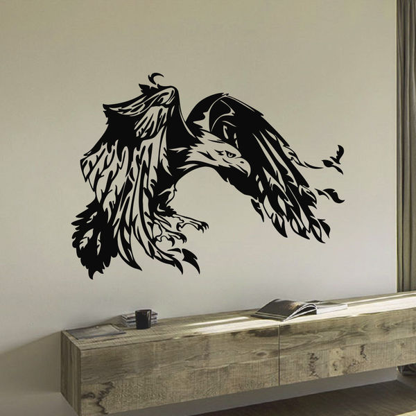 Soaring Eagle Vinyl Wall Art Decal Sticker