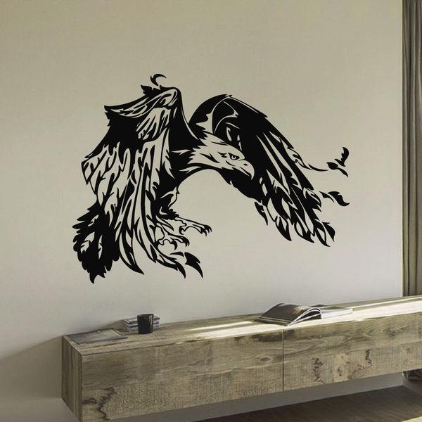 Soaring Eagle Vinyl Wall Art Decal Sticker
