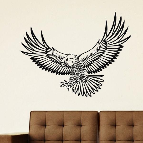 Eagle Bird Vinyl Wall Art Decal Sticker