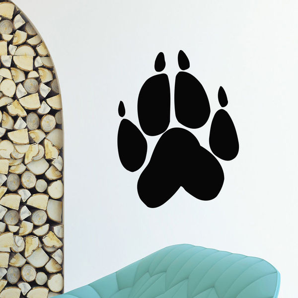 Animal Footprints Vinyl Wall Art Decal Sticker