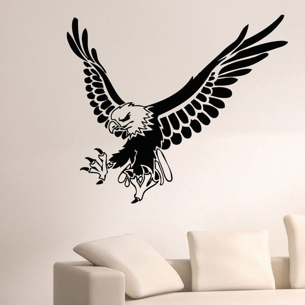 Wild Bird Vinyl Wall Art Decal Sticker