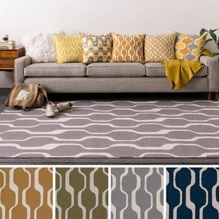 Table-Tufted Wyck Polyester Rug (5' x 7'6)