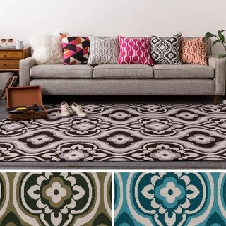 Table-Tufted Tian Polyester Rug (5' x 7'6)