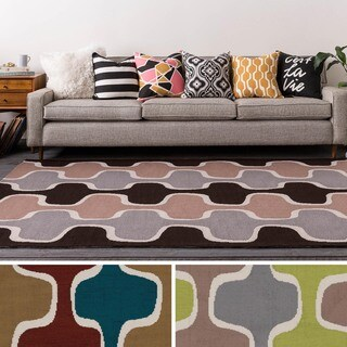 Table-Tufted Ward Polyester Rug (7'6 x 9'6)