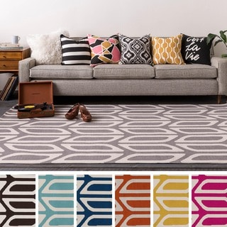 Table-Tufted View Polyester Rug (7'6 x 9'6)