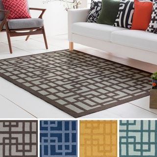 Hand-Tufted Reed Wool/Polyacrylic Rug (7'6 x 9'6)