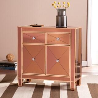 Harper Blvd Minna Bronze Colored Mirrored Cabinet
