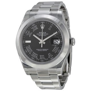 Rolex Men's m116300-0006 Datejust II Grey Watch
