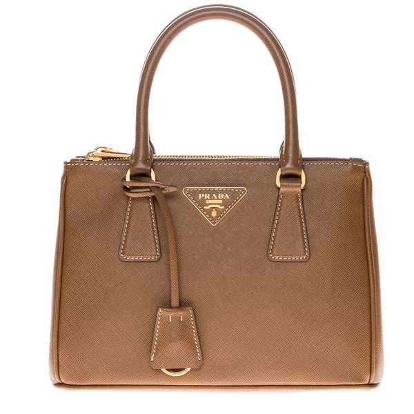 Prada Saffiano Leather Baby Executive Tote Bag